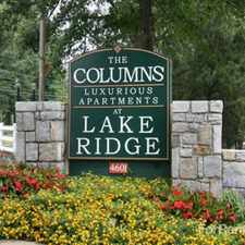 Rental info for The Columns at Lake Ridge