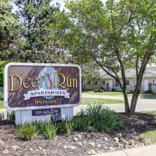 Rental info for Deer Run Apartments