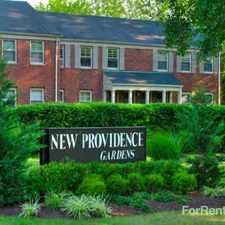 Rental info for New Providence Gardens
