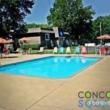 Rental info for Concord Square