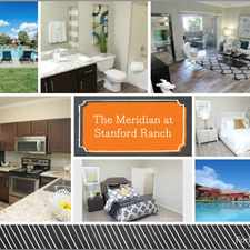 Rental info for Meridian at Stanford Ranch