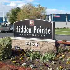 Rental info for Hidden Pointe Apartments