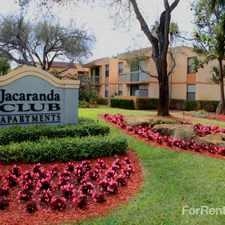Rental info for Jacaranda Club
