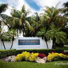 Rental info for Atlantic at East Delray