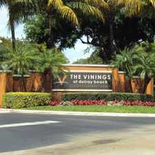 Rental info for Vinings at Delray Beach