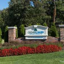 Rental info for Cedar Lakes