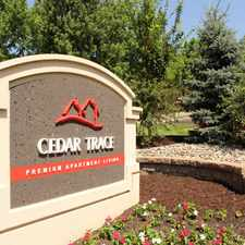 Rental info for Cedar Trace Apartments in the Maryland Heights area