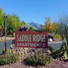 Rental info for Saddle Ridge Apts