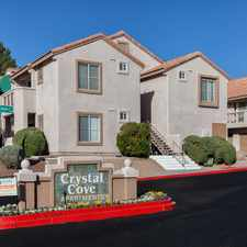 Rental info for Crystal Cove Apartments in the Las Vegas area