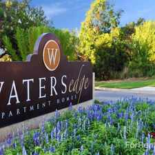 Rental info for Waters Edge Apartment Homes