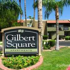 Rental info for Gilbert Square