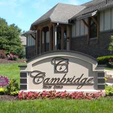 Rental info for Cambridge at River Oaks