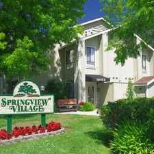 Rental info for Springview Village