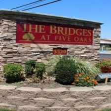 Rental info for The Bridges at Five Oaks
