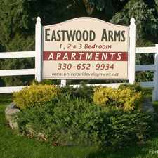 Rental info for Eastwood Arms Apartments