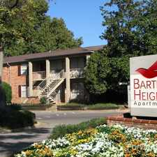 Rental info for Bartlett Heights in the Memphis area