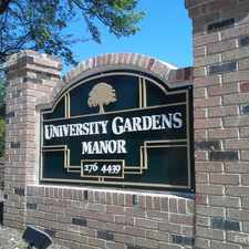 Rental info for University Gardens Manor
