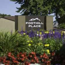 Rental info for Foothill Place Apartments