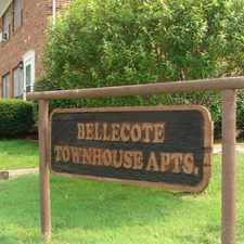 Rental info for Bellecote Townhouse Apartments