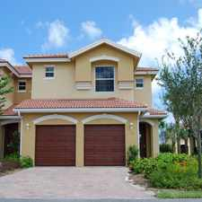 Rental info for The Enclave at St. Lucie West