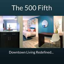 Rental info for The 500 Fifth Apartments