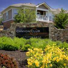 Rental info for Canyon Club At Perry Crossing in the Plainfield area