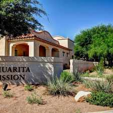 Rental info for Sahuarita Mission