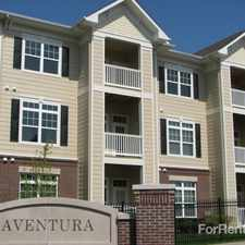 Rental info for Aventura at Forest Park in the St. Louis area