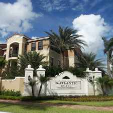 Rental info for The Atlantic Doral