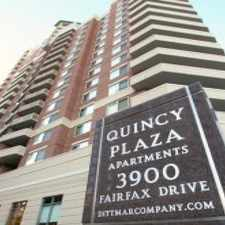 Rental info for Quincy Plaza in the Arlington area