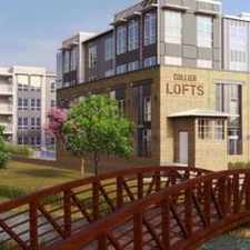 Rental info for Collier Lofts in the Atlanta area
