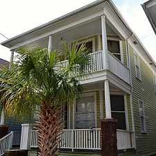 Rental info for 14 Cannon St in the Charleston area