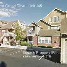 Rental info for 14399 East Grand Drive in the Pheasant Run area