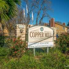 Rental info for Copper Mill