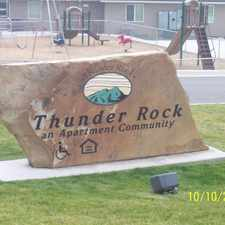 Rental info for Thunder Rock Apartments