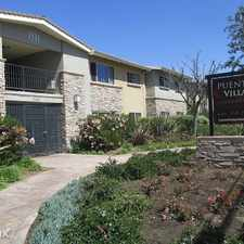 Rental info for Puente Villa Apartments in the West Puente Valley area