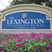 Rental info for The Lexington Apartments