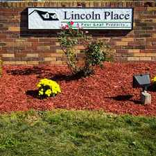 Rental info for Lincoln Place Manufactured Home Community