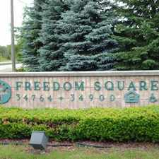 Rental info for Freedom Square in the Farmington Hills area