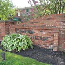Rental info for Garden Village Apartments in the West Seneca area