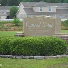 Rental info for Cypress Ridge in the Nacogdoches area