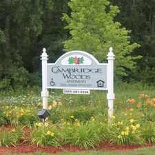 Rental info for Cambridge Woods