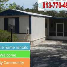 Rental info for Glennwood and J&L Mobile Home Park in the Tampa area