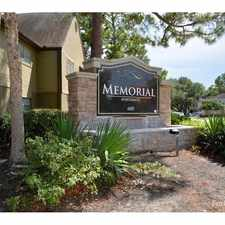 Rental info for Memorial Apartments in the Memorial area
