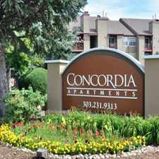 Rental info for Concordia