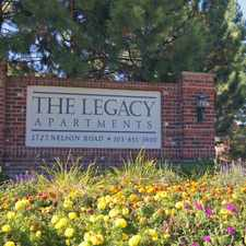 Rental info for The Legacy