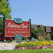 Rental info for Ralston Park