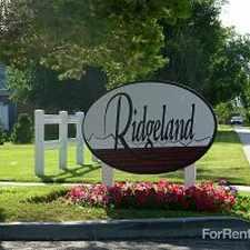 Rental info for Ridgeland