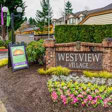 Rental info for Westview Village