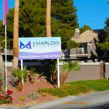 Rental info for The Marlow
